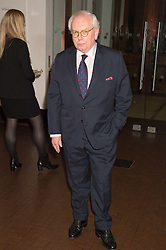 DAVID STARKEY at a dinner to celebrate Sir David Tang's 20 year patronage of the Royal Academy of Arts and the start of building work on the Burlington Gardens wing of the Royal Academy held at 6 Burlington Gardens, London on 26th October 2015.
