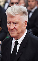 Director David Lynch at Twin Peaks gala screening at the 70th Cannes Film Festival Thursday 25th May 2017, Cannes, France. Photo credit: Doreen Kennedy