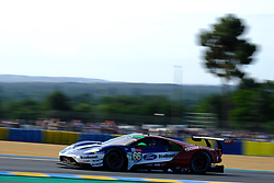 June 16, 2018 - Le Mans, Sarthe, France - Ford Chip Ganassi TEAM UK USA FORD GT Driver STEFAN MUCKE (GER) in action during the 86th edition of the 24 hours of Le Mans 2nd round of the FIA World Endurance Championship at the Sarthe circuit at Le Mans - France (Credit Image: © Pierre Stevenin via ZUMA Wire)