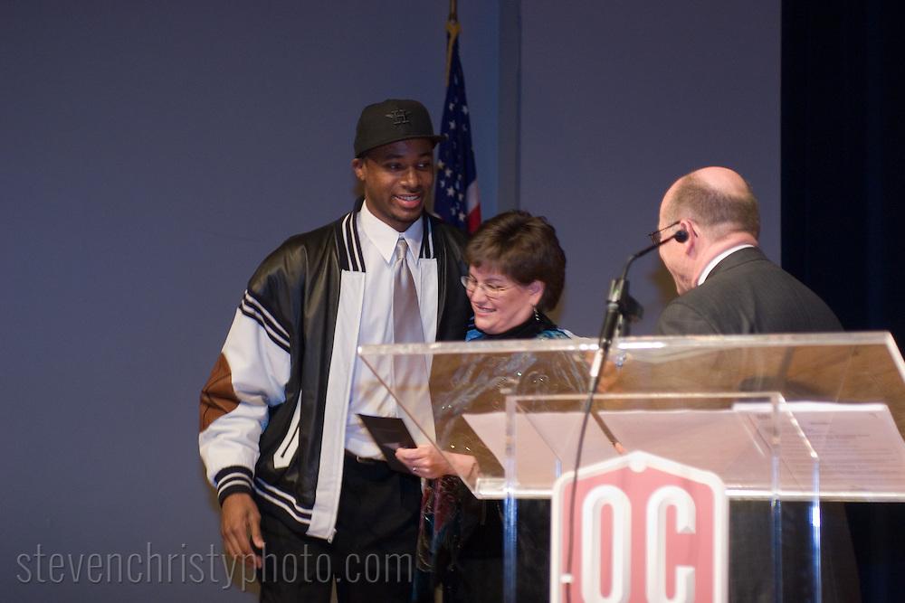 OCPY Athletic Awards.April 22, 2007