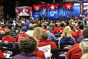 Fourth of July atmosphere at the 2011 NEA Representative Assembly in Chicago, Il.Scott Iskowitz/RA Today