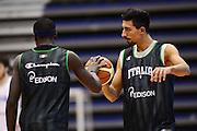 Biella, 15/12/2012<br /> Basket, All Star Game 2012<br /> Allenamento Nazionale Italiana Maschile <br /> Nella foto: valerio mazzola<br /> Foto Ciamillo