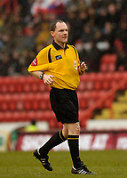 Photo: Leigh Quinnell.<br /> Bristol City v Huddersfield Town. Coca Cola League 1. 10/02/2007. Referee P.Armstrong.