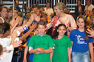 Utrecht, 10-06-2015 <br /> <br /> Queen Maxia attend &quot;Children make music.<br /> <br /> <br /> Photo:Royalportraits Europe/Bernard Ruebsamen