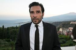 Nastri d'argento film awards assigned to Taormina by the journalists' union. 30 Jun 2018 Pictured: Edoardo Leo. Photo credit: Fabio Caia / MEGA TheMegaAgency.com +1 888 505 6342