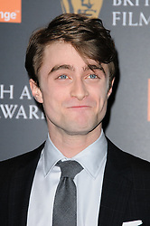 Daniel Radcliffe at the Orange British Academy Film Awards Nominations announcement,London, Tuesday January 17, 2011. Photo By i-Images