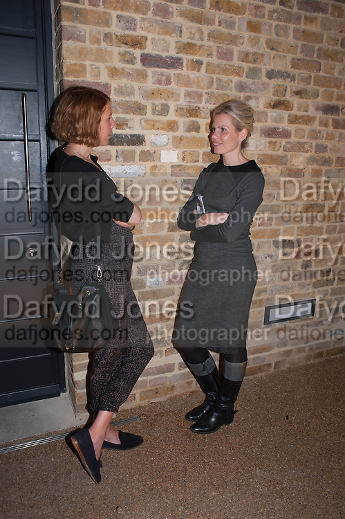 KATIE DOUBLEDAY; MAYA BINKIN, VIP opening  of the new Serpentine Sackler Gallery designed by Zaha Hadid . Kensinton Gdns. London. 25 September 2013