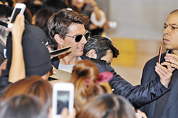 Tom Cruise Arrives In Tokyo Actor Tom Cruise arrives at Tokyo International Airport, Tokyo, Japan, January 8, 2013. Photo by Imago / i-Images...UK ONLY