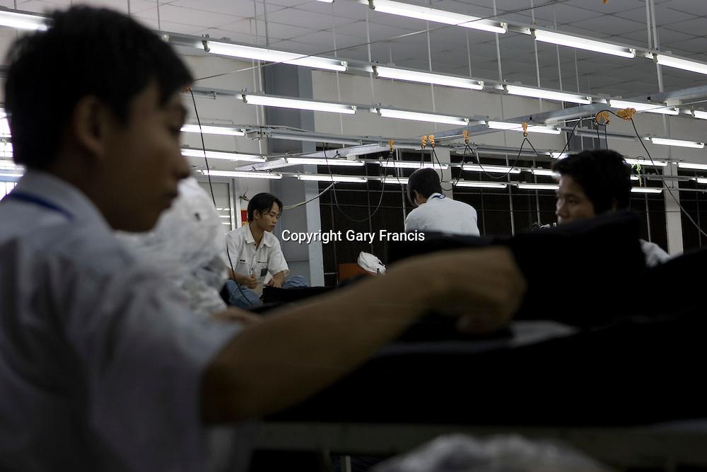 Garment Factory in Ho Chi Minh City, Vietnam