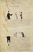 Absinthe/Victor Hugo c1895-1900.  Guillaume Apollinaire (Apollinaris Kostrowitsky 1880-1919) French poet.