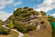 Photographed at the Schlick 2000 ski centre, Stubai, Tyrol, Austria in September
