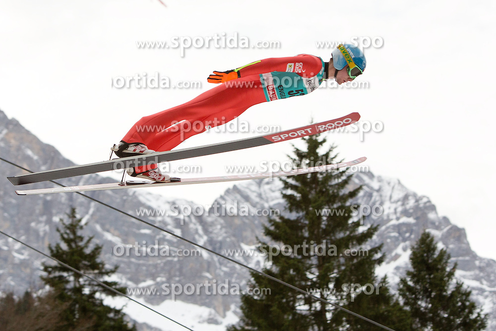 22.12.2013, Gross Titlis Schanze, Engelberg, SUI, FIS Weltcup Ski Sprung, Engelberg, Herren, im Bild Jan Ziobro (POL) // during mens FIS Ski Jumping world cup at the Gross Titlis Schanze in Engelberg, Switzerland on 2013/12/22. EXPA Pictures &copy; 2013, PhotoCredit: EXPA/ Eibner-Pressefoto/ Socher<br /> <br /> *****ATTENTION - OUT of GER*****