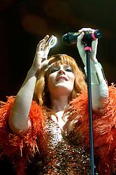 Ana Matronic of Scissor Sisters At Sheffield Hallam FM Arena .21 November 2006.Copyright Paul David Drabble