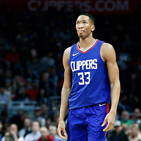 13 January 2018: LA Clippers forward Wesley Johnson (33) is seen during the LA Clippers 126-105 victory over the Sacramento Kings, at the Staples Center, Los Angeles, California, USA.