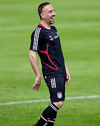 18.05.2012, Trainingsgelaende FC Bayern, Muenchen, GER, UEFA CL, Finale, Vorberichte, Training FC Bayern, im Bild FC Bayern Munchen's Franck Ribery during the practice session of FC Bayern, preliminary reports for the UEFA CL final at training complex in Sabener Strasse, Munich, Germany on 2012/05/18. EXPA Pictures © 2012, PhotoCredit: EXPA/ Propagandaphoto/ Vegard Grott..***** ATTENTION - OUT OF ENG, GBR, UK *****