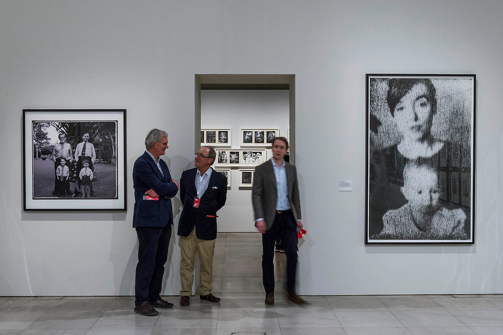 Martin Parr chats at Work by Perdro Meyer and Ackroyd and Harvey - Beneath the Surface - an exhibition of images from the V&A, which will continue after the end of Photo London. The inaugural edition of Photo London - London's first international photography fair, it aims to harness the growing audience for photography in the city and nurture a new generation of collectors. Photo London is produced by the consultancy and curatorial organisation Candlestar, known for their work with Condé Nast and the Prix Pictet photography award and touring exhibition. Photo London's public programme is supported by the LUMA Foundation.