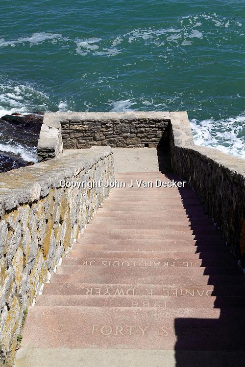 The Cliff Walk, Newport Rhode Island
