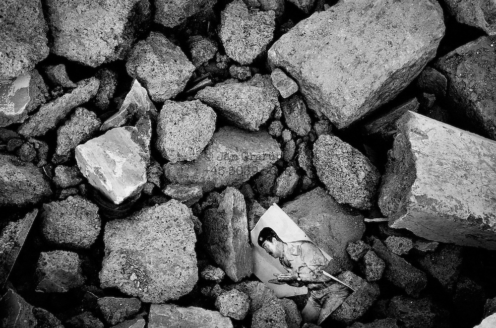 Ruins in Balakot.<br /> Nov. 2005