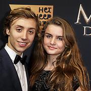 NLD/Amsterdam/20150126 - Premiere Michiel de Ruyter, cast, Nils Verkooijen en ...........