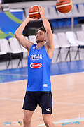 DESCRIZIONE: Torino FIBA Olympic Qualifying Tournament <br /> GIOCATORE: Andrea Bargnani<br /> CATEGORIA: Nazionale Italiana Italia Maschile Senior Allenamento<br /> GARA: FIBA Olympic Qualifying Tournament Allenamento<br /> DATA: 04/07/2016<br /> AUTORE: Agenzia Ciamillo-Castoria