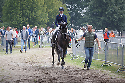 Witte Jeroen, Van Der Putten Marieke, (NED), El Capone 5<br /> Small Final 6 years old horses<br /> World Championship Young Dressage Horses - Verden 2015<br /> © Hippo Foto - Dirk Caremans<br /> 08/08/15