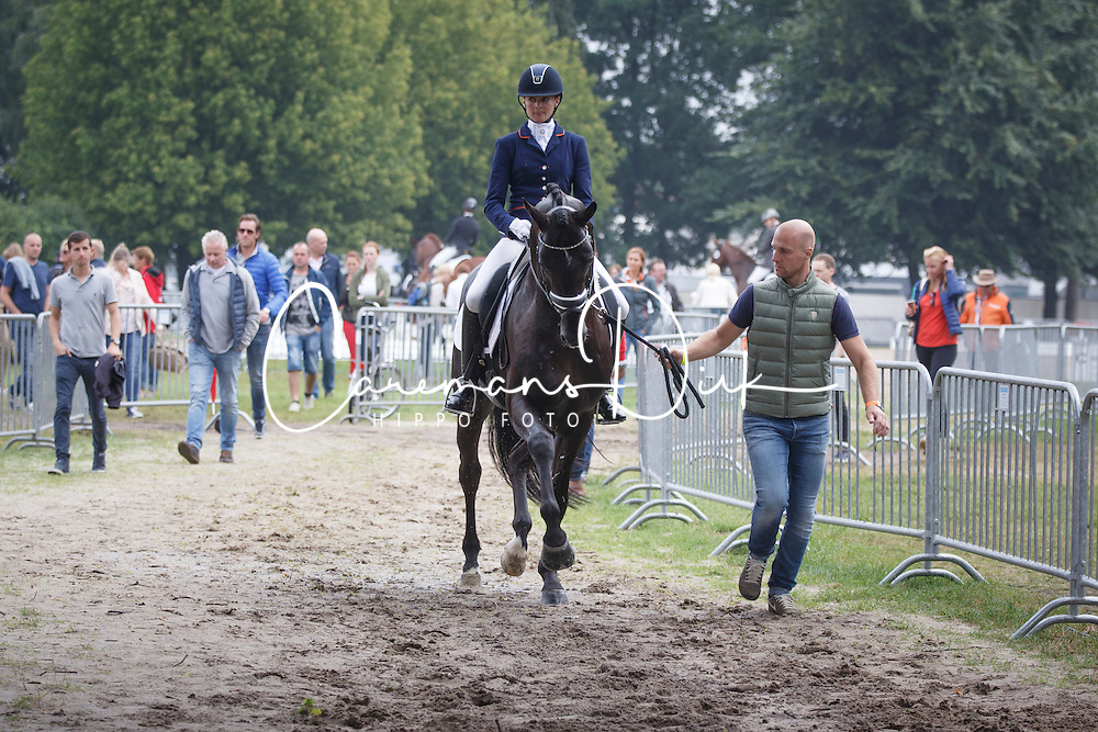 Witte Jeroen, Van Der Putten Marieke, (NED), El Capone 5<br /> Small Final 6 years old horses<br /> World Championship Young Dressage Horses - Verden 2015<br /> © Hippo Foto - Dirk Caremans<br /> 08/08/15