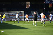 Derby County forward Wayne Rooney (32) (clean shaven)  during the EFL Sky Bet Championship match between Luton Town and Derby County at Kenilworth Road, Luton, England on 19 September 2020.