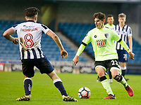 Football - 2016 / 2017 FA Cup - Third Round: Millwall vs. AFC Bournemouth<br /> <br />  Emerson Hyndman of Bournemouth on the ball, at The Den.<br /> <br /> COLORSPORT/WINSTON BYNORTH