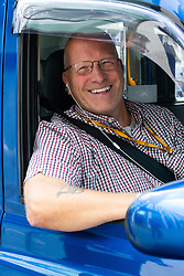 Cabbie Jim Peacock, 59, says Boris Johnson shouldn't resign, but if he lied to the Queen he should. London, September 24 2019.