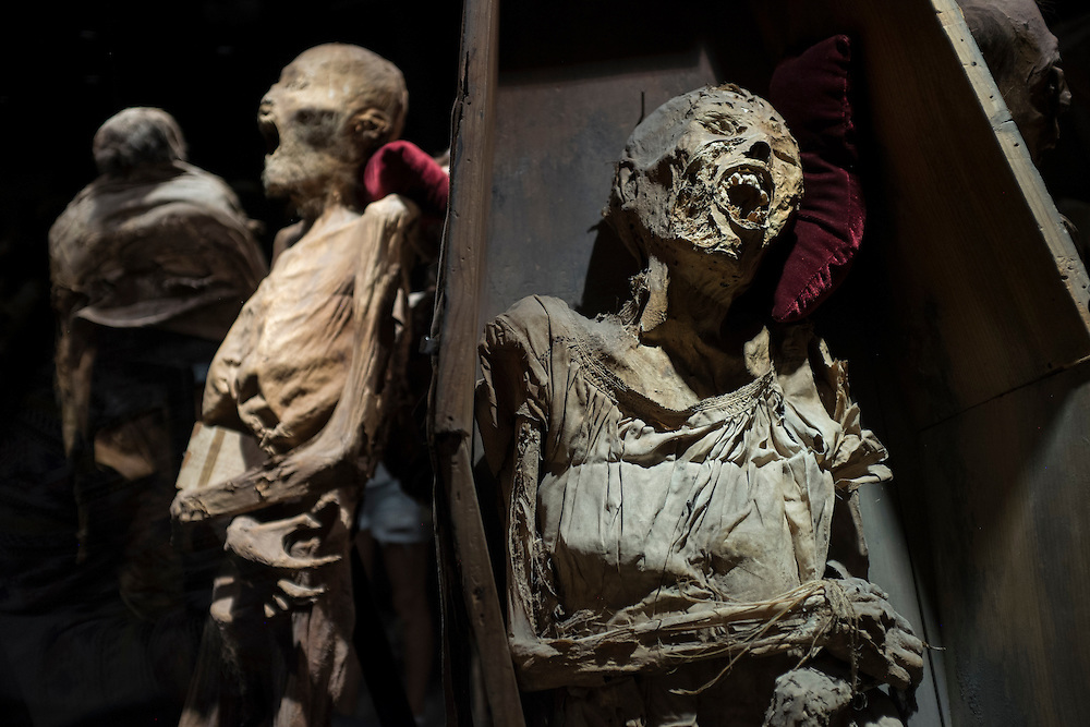 Mummies of Guanajuto. City of Guanajuato, Mexico.