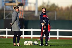 Tanya Oxtoby manager of Bristol City Women and Marco Chiavetta assistant coach for Bristol City Women - Mandatory by-line: Paul Knight/JMP - 17/11/2018 - FOOTBALL - Stoke Gifford Stadium - Bristol, England - Bristol City Women v Liverpool Women - FA Women's Super League 1