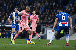 December 8, 2018 - Barcelona, Catalonia, Spain - 22 Vidal of FC Barcelona during the Spanish championship La Liga football match between RCD Espanyol v FC Barcelona on December 08, 2018 at RCD Stadium stadium in Barcelona, Spain. (Credit Image: © Xavier Bonilla/NurPhoto via ZUMA Press)
