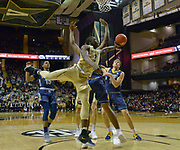 Vanderbilt Commodores guard Maxwell Evans (3) shoots against the Kent State Golden Flashes during the first half of an NCAA basketball game in Nashville, Tenn., Friday, Nov. 23, 2018. (Jim Brown/IOS via AP)