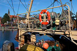 GERMANY ECKERNFOERDE 15FEB04 - Fishing boat in Eckernfoerde harbour, Germany.....jre/Photo by Jiri Rezac....© Jiri Rezac 2004..