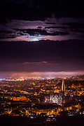 Tonight there is a special moon (red moon)over the sky but as you can imagine we have a cloudy night here in Trondheim. So please feel free to enjoy another night with moon on top of Trondheim in a very beautiful misty mood!  if you want please feel free to share it with the family and friends :)
