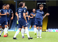 September 30, 2017 - Southend, England, United Kingdom - Anthony Wordsworth of Southend United celebrates scoring his sides first goal .during Sky Bet League one match between Southend United against Blackpool at  Roots Hall,  Southend on Sea England on 30 Sept  2017  (Credit Image: © Kieran Galvin/NurPhoto via ZUMA Press)