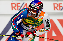 Manfred Moelgg of Italy during 2nd Rund of Men's Giant Slalom of FIS Ski World Cup Alpine Kranjska Gora, on March 5, 2011 in Vitranc/Podkoren, Kranjska Gora, Slovenia.  (Photo By Vid Ponikvar / Sportida.com)
