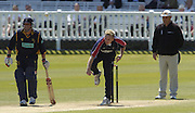 2005 Totesport League, Middlesex Crusader vs Hampshire Hawks at Lords, ENGLAND, 15.05.2005, Alan Richardson ..Photo  Peter Spurrier. .email images@intersport-images...