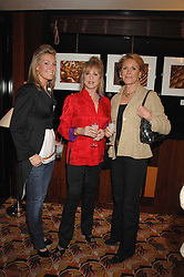 Left to right, OLIVIA BUCKINGHAM, PATTI BOYD and MEL RENDALL  at an exhibition of photographs by Olivia Buckingham held at China Tang, The Dorchester, Park Lane London on 5th March 2007.<br /><br />NON EXCLUSIVE - WORLD RIGHTS