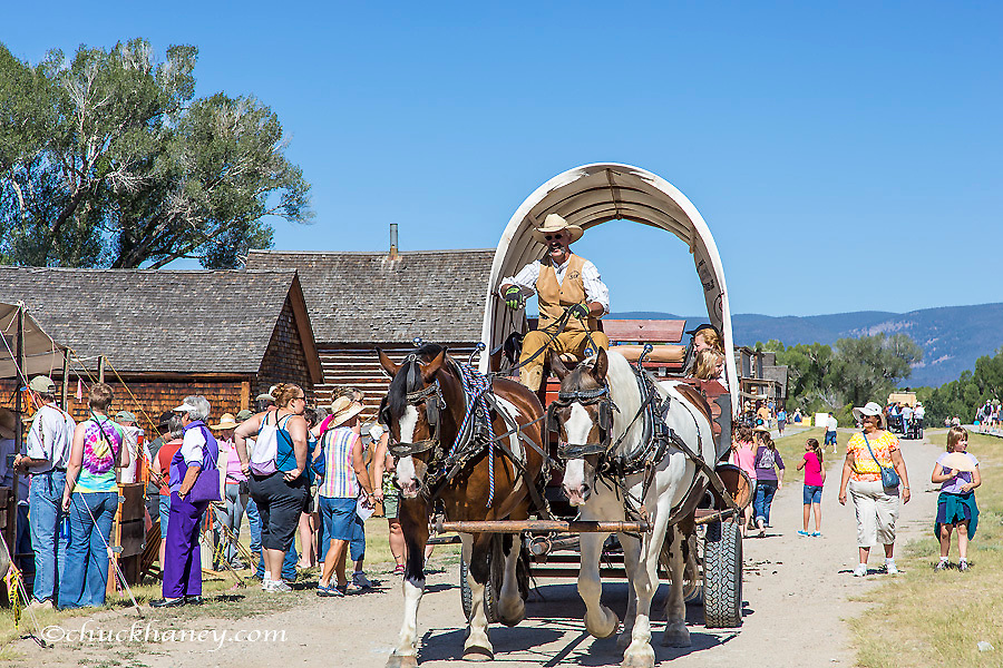 Bannack Days celebration at Bannack State Park, Montana, USA
