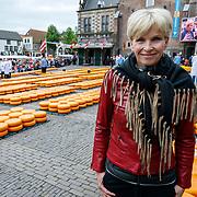 """NLD/Alkmaar/20180518 - Perspresentatie """"Nederland staat op tegen kanker"""" officiele start, Anita Witzier"""
