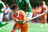 ALMERE - Robbert Kemperman scoort   tijdens de interland tussen de mannen van Nederland en Ierland (3-2) ter voorbereiding van het EK dat eind augustus in Londen wordt gehouden. COPYRIGHT KOEN SUYK