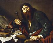 St Paul the Apostle. Claude Vignon (1593-1670). Oil on canvas. Private collection.