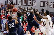 December 6, 2018: The Southwestern Oklahoma State University Bulldogs play against the Oklahoma Christian University Eagles in the Eagles Nest on the campus of Oklahoma Christian University.