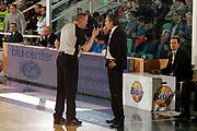 DESCRIZIONE : Avellino Lega A 2011-12 Sidigas Avellino EA7 Emporio Armani Milano<br /> GIOCATORE : Sergio Scariolo Arbitro Facchini<br /> SQUADRA : EA7 Emporio Armani Milano<br /> EVENTO : Campionato Lega A 2011-2012<br /> GARA : Sidigas Avellino EA7 Emporio Armani Milano<br /> DATA : 22/04/2012<br /> CATEGORIA : ritratto proteste<br /> SPORT : Pallacanestro<br /> AUTORE : Agenzia Ciamillo-Castoria/A.De Lise<br /> Galleria : Lega Basket A 2011-2012<br /> Fotonotizia : Avellino Lega A 2011-12 Sidigas Avellino EA7 Emporio Armani Milano<br /> Predefinita :