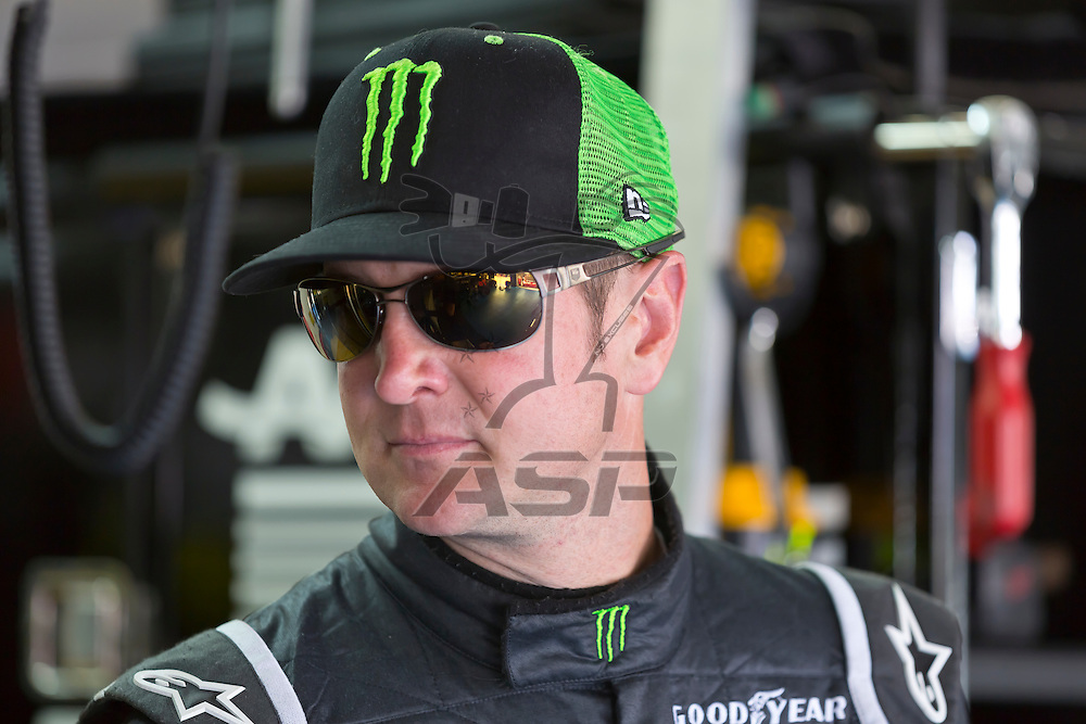 CONCORD, NC - MAY 26, 2012:  Kurt Busch (51) waits for a practice session for the Coca-Cola 600 at the Charlotte Motor Speedway in Concord, NC.