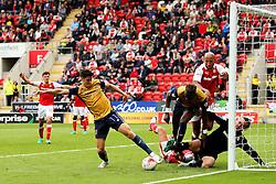 Callum O'Dowda of Bristol City involved in a goal mouth scramble - Mandatory by-line: Matt McNulty/JMP - 10/09/2016 - FOOTBALL - Aesseal New York Stadium - Rotherham, England - Rotherham United v Bristol City - Sky Bet Championship