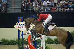 Madden Beezie, (USA), Simon for Steve Guerdat<br /> Longines FEI World Cup™ Jumping Final II<br /> Las Vegas 2015<br />  © Hippo Foto - Dirk Caremans<br /> 18/04/15