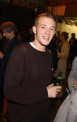 ALEXANDER FLICK son of 'Mick Flick' at an opening party for artist Paul McCarthy's exhibition 'LaLa Land Parody Paradise' held at the Whitechapel Gallery, 80-82 Whitechapel High Street, London E1 on 22nd October 2005.<br />