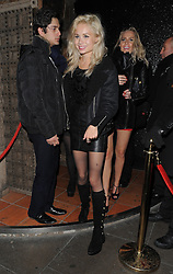 Nina Nesbitt leaving the Rose club in London, UK. 12/01/2014<br />